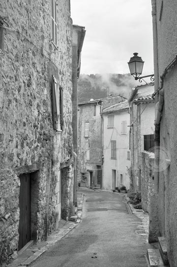 Bargemon, Provence, 2011