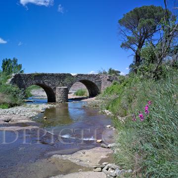 La Plaine des Maures, Provence, 2014: Roman Bridge