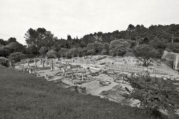 Glanum, Provence, 2005