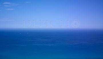 View from Saint Tropez Peninsula, Provence, 2010